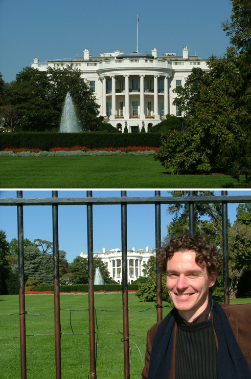 Portret met The White House